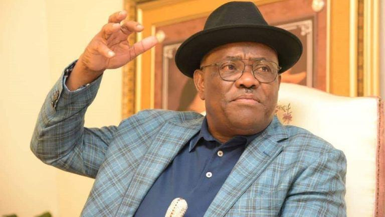 Rivers State Governor, Nyesom Wike has asked law enforcement to go after protesters (Punch)