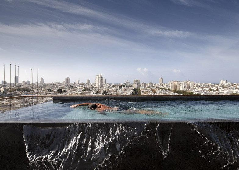 Nowoczesny penthouse z nietypowym widokiem na Tel Aviv.