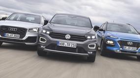 Volkswagen T-Roc kontra Hyundai Kona i Audi Q2 - małe SUV-y w natarciu!