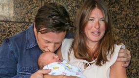 Jamie Oliver pokazał nowo narodzonego synka. Zobacz zdjęcia!