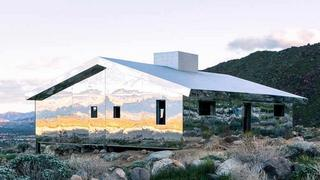 Niezwykły dom stworzony z luster
