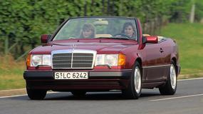 Mercedes E W124 cabrio: atrakcyjny 25-latek