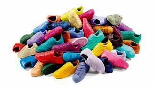 Tęczowa kolekcja Adidas Originals Pharrella Williamsa