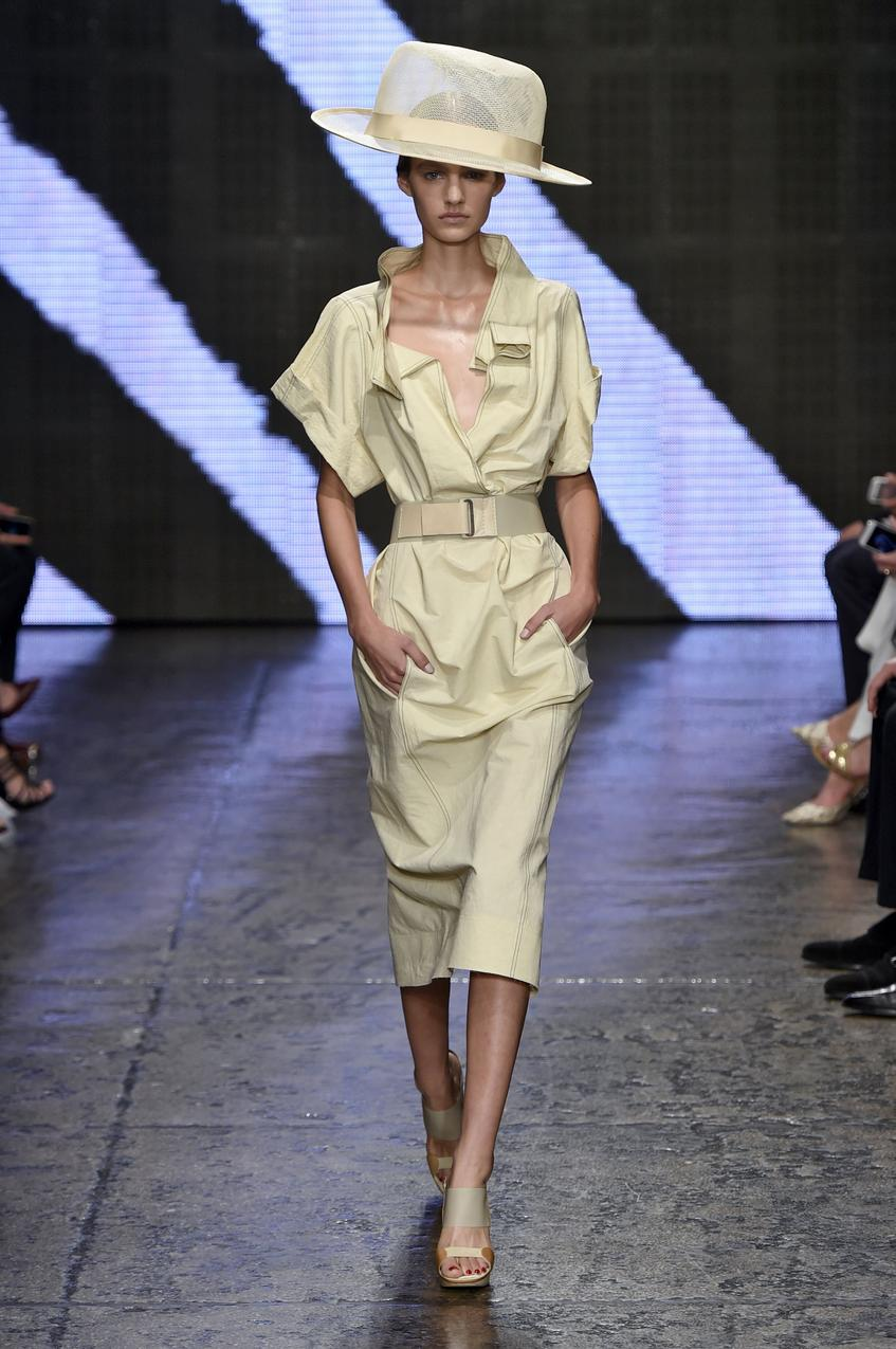 Donna Karan, wiosna - lato 2015 /EAST NEWS / Getty Images
