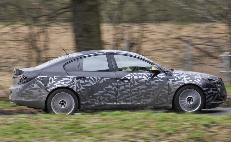 Opel Kamuflaż I Maskowanie Walka Z Paparazzi Prototyp 243 W
