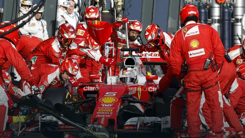 Zespół Ferrari