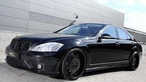 Mercedes S550 odmieniony przez MEC Design