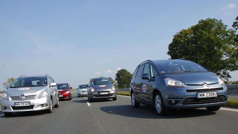 5 minivanów w teście czytelników - Który okaże się najlepszy dla rodziny Toyota Verso, Mazda 5, Opel Zafira, Renault Scenic czy Citroen C4 Picasso?