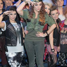 Ewa Farna w militarnym stylu