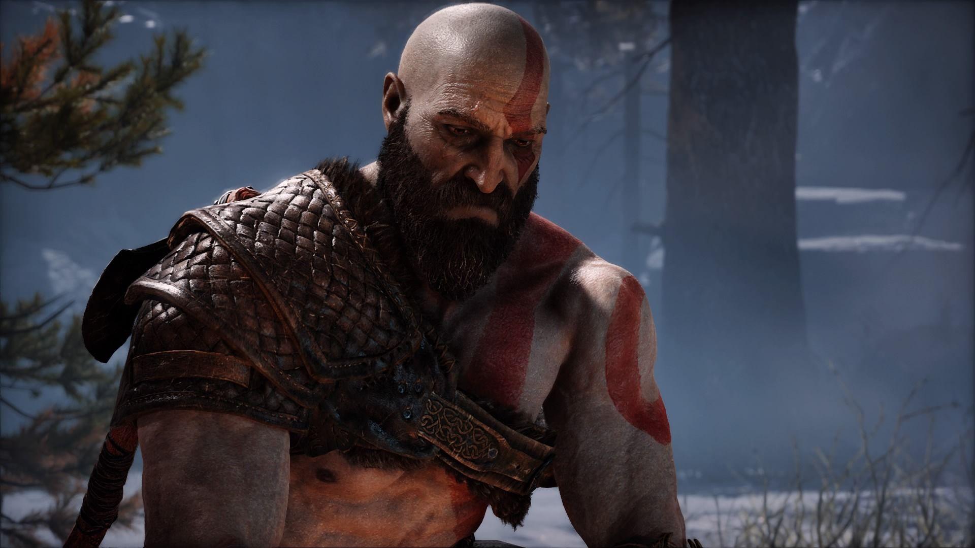 Kratos je poznateľne starší, no stále nebezpečný