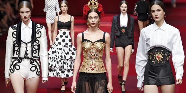 Dolce & Gabbana: wiosna – lato 2015