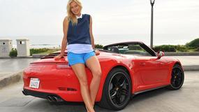 Maria Szarapowa pokazuje nogi w sesji dla Porsche