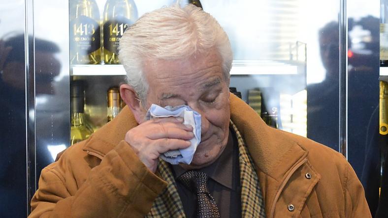 Kiss Lászlót megviselte a bánásmód / Fotó: MTI-Soós Lajos