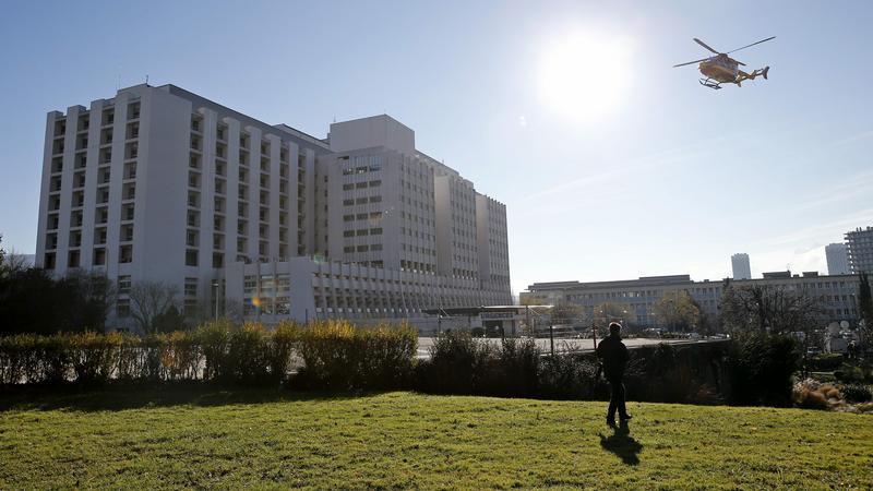 Szpital w Grenoble, w którym przebywa Michael Schumacher