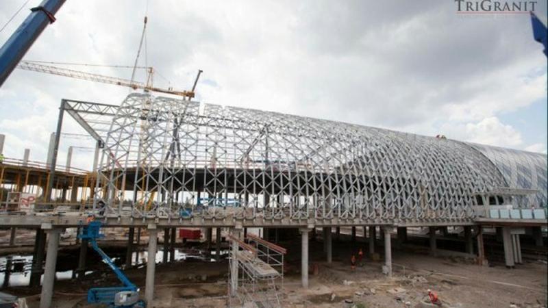 Galeria Poznań City Center zostanie otwarta wraz z końcem 2013 roku, fot. TriGranit / mmpoznan.pl
