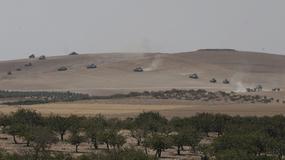 Tureckie czołgi wjechały na terytorium Syrii