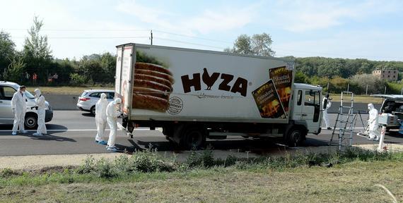 Ponad 70 ciał w ciężarówce na autostradzie koło Wiednia