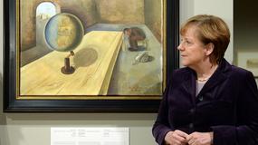 Kanclerz Merkel otworzyła wystawę sztuki ofiar Holokaustu