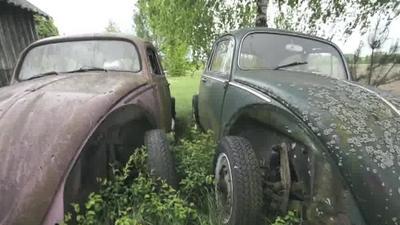 Niezwykła kolekcja starych samochodów