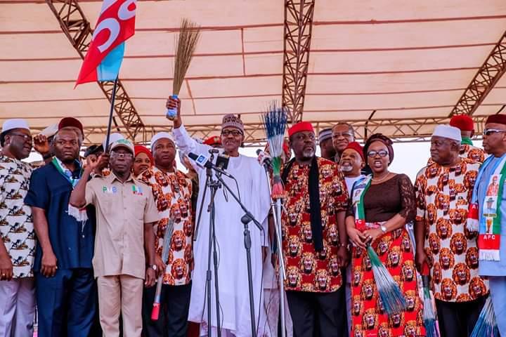 Buhari tasks Imo APC on peaceful coexistence