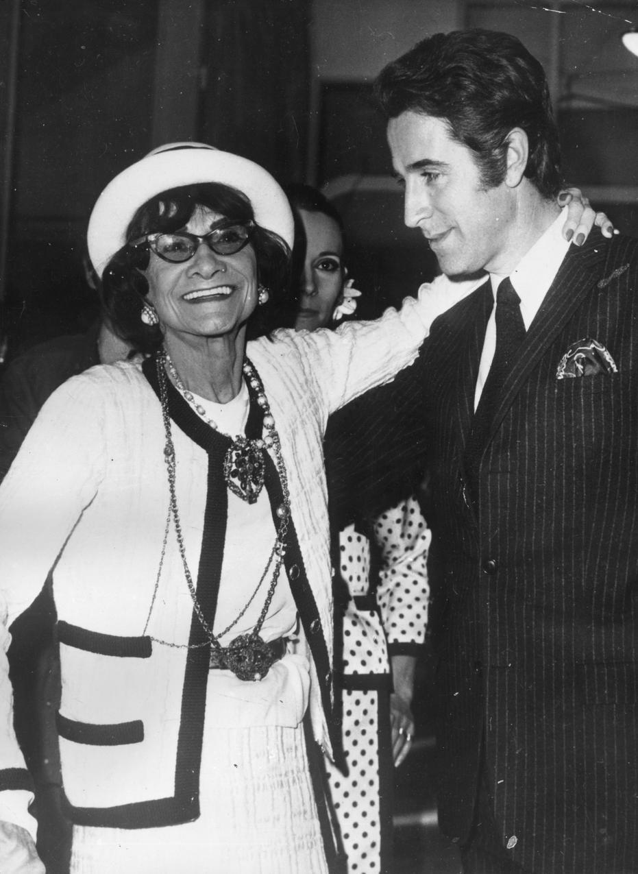 Coco Chanel w latach 50.