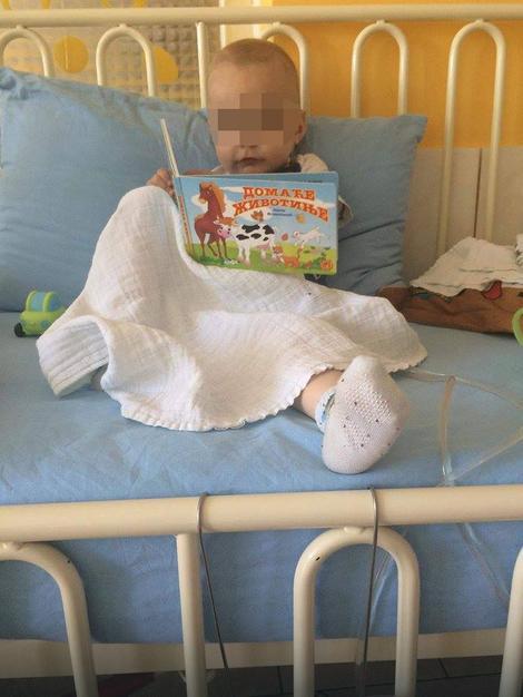 Mališan je često na aparatima zbog nekoliko operacija bubrega