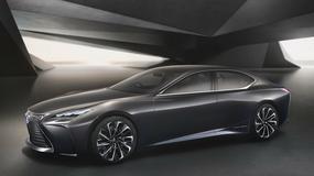 Lexus LF-FC z napędem wodorowym