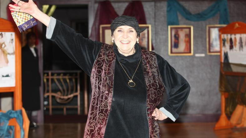A színésznő imédott viccelődni /Fotó: RAS Archívum