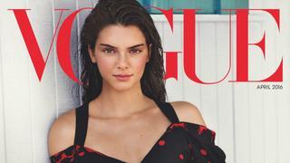 """Kendall Jenner na okładce amerykańskiego """"Vogue'a"""""""