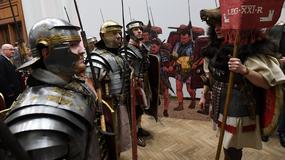Legiony rzymskie w Pałacu Kultury i Nauki