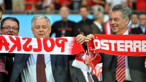 Lech Kaczyński na Euro 2008