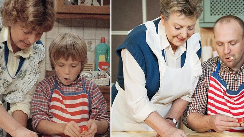 A kis Klausiból (balra) a felnőtt Klaus Beimer lett a tévénézők szeme előtt (mellette a sorozatbeli anyja, Marie- Luise Marjan)