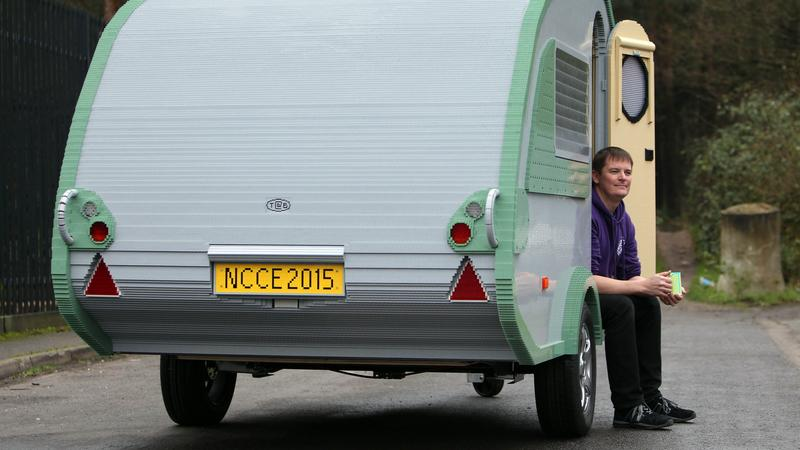 Legó lakókocsi - Fotó: Northfoto