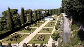 Ogrody rezydencji w Castel Gandolfo dostępne dla zwiedzających