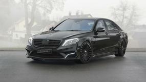 Mercedes Klasy S po tuningu - dzikie serce limuzyny
