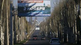 Narada na Kremlu na temat wyborów w ukraińskim Donbasie