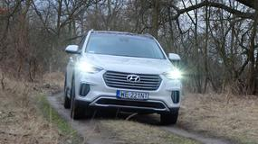 Hyundai Grand Santa Fe - w błoto i na ulice | TEST