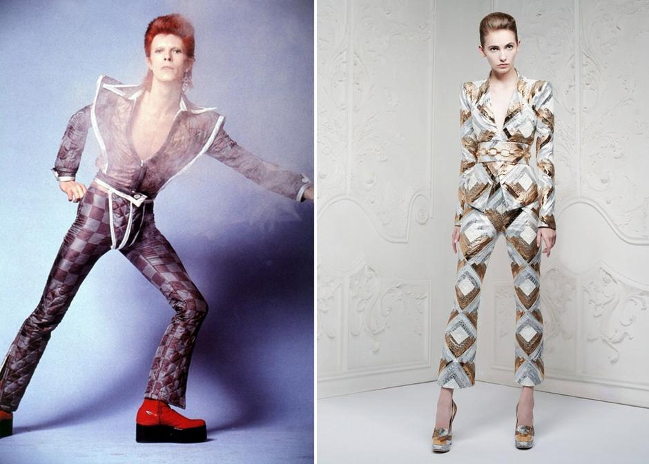 David Bowie inspiruje modę
