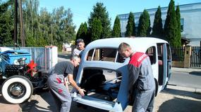 Cadillac Marszałka - Odbudowa Cadillaca 355D Fleetwood Special