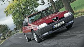 Alfa Romeo 164 - limuzyna w cenie skutera