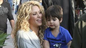 Shakira zabrała synka na plan zdjęciowy