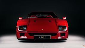 Ciekawostka z ogłoszenia: Ferrari F40 Erica Claptona
