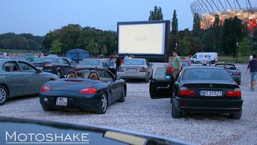 TopGear zaprasza do kina samochodowego w Warszawie