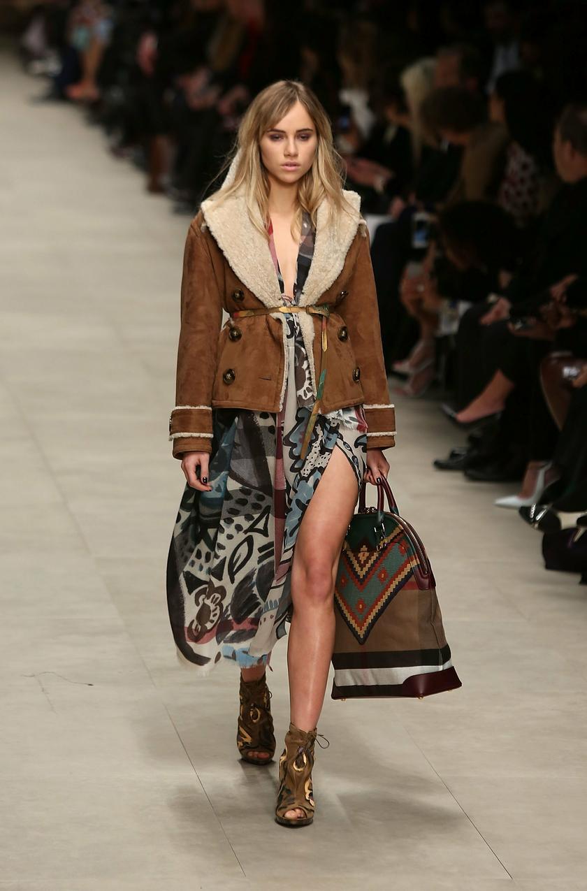 Models at london fashion week 55