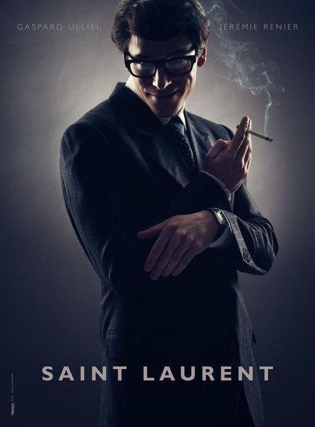 "Plakat  do filmu ""Saint Laurent"""