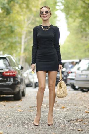 Must have: czarna sukienka