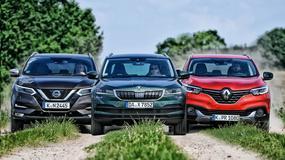 Nissan Qashqai kontra Renault Kadjar i Skoda Karoq - który model będzie lepszym wyborem?