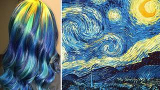 Trend na Instagramie: włosy inspirowane dziełami sztuki