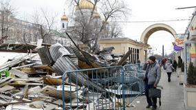 Demolka w Moskwie. Burzą samowole budowlane