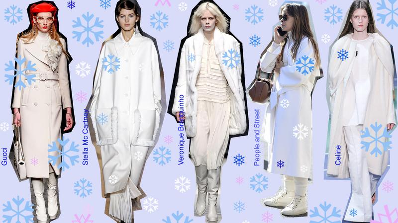 Radzikowska radzi: Białe stylizacje na zimę